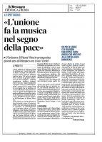 Credo – Il Messaggero Roma – 15122015