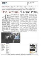 Don Giovanni – Corriere della Sera Roma – 07112017