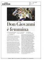 Don Giovanni – la Repubblica Robinson – 12112017