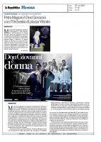 Don Giovanni – la Repubblica Roma – 07112017