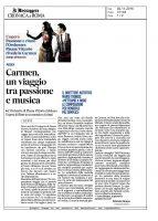 Carmen – Il Messaggero – 02112016