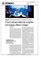 Carmen – Il Tempo – 02112016