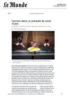 Carmen – Le Monde – 26062013