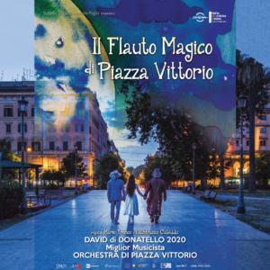 """L'ORCHESTRA DI PIAZZA VITTORIO vince la 65 ª edizione dei David di Donatello come """"Miglior Musicista"""" per il film """"Il Flauto Magico di Piazza Vittorio"""""""